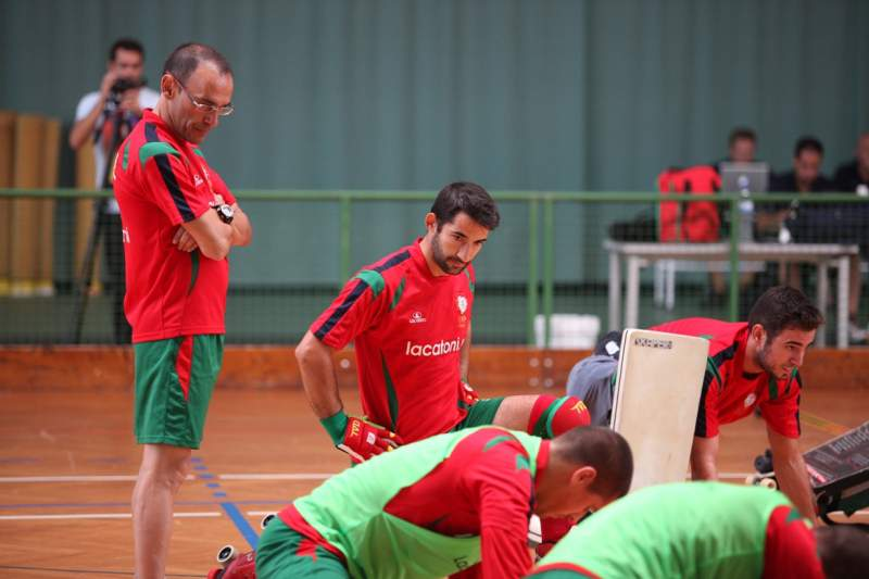 Valter Neves e Ricardo Barreiros confiantes para Mundial
