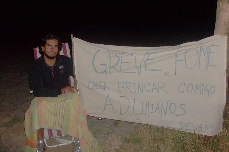 Jogador do Limianos entre em greve de fome por salários em atraso
