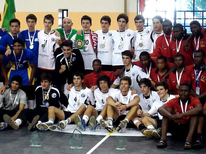 Portugal e Brasil dominam nas medalhas
