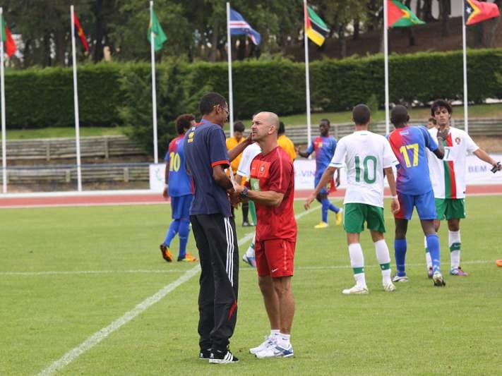 Seleção sub-16 empata com a Suíça