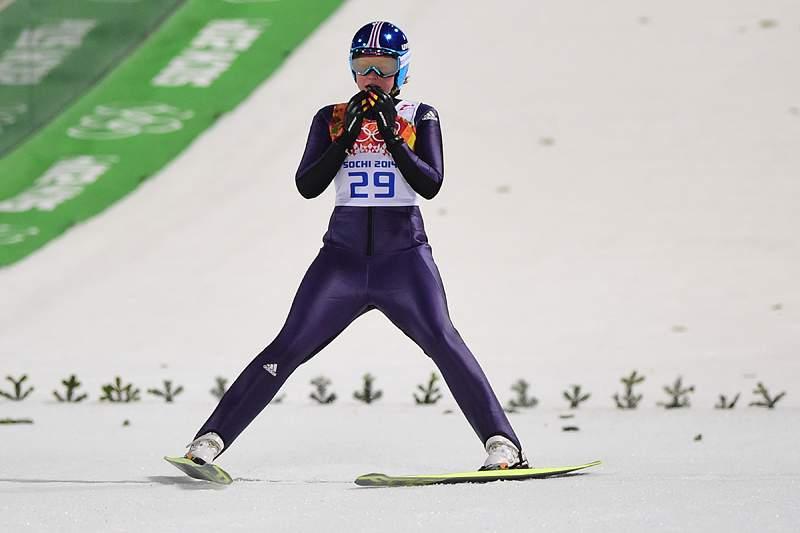 Carina Vogt primeira campeã olímpica nos saltos de esqui