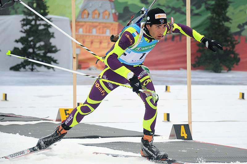 Björndalen falha 13.ª medalha olímpica por 1,7 segundos