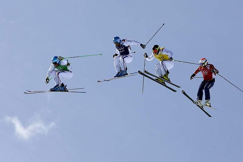 """Canadá e Eslovénia contestam """"pleno"""" francês em skicrosse no TAS"""