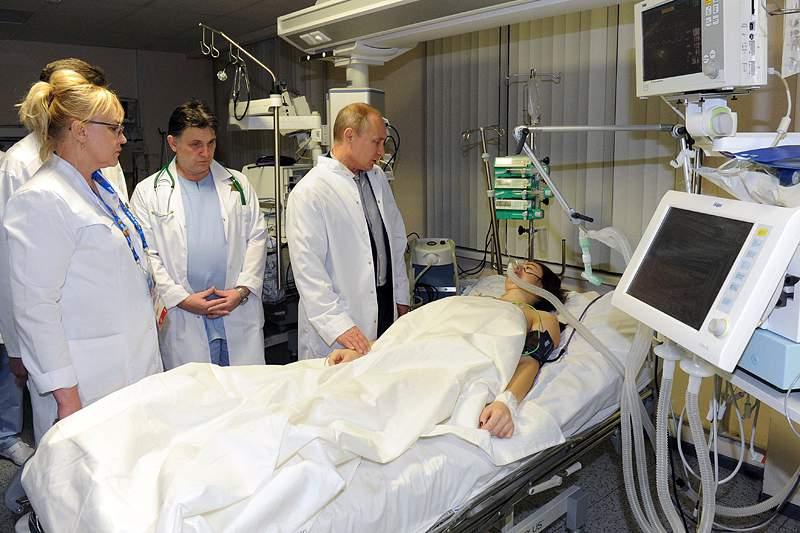 Maria Komissarova transferida para uma clinica na Alemanha