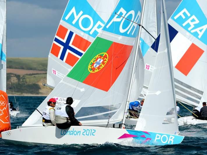 Portugueses nonos na quinta regata
