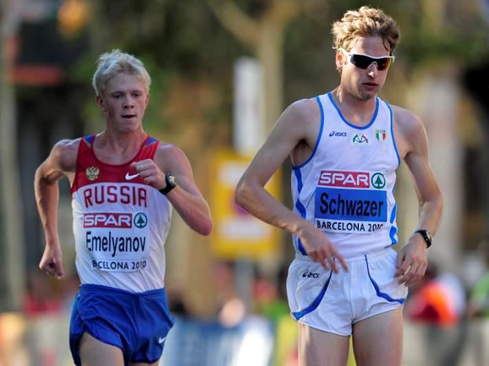 Campeão olímpico de 50 km marcha excluído por doping