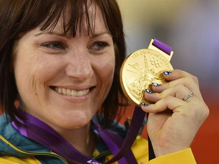 Ouro para Anna Meares em sprint feminino