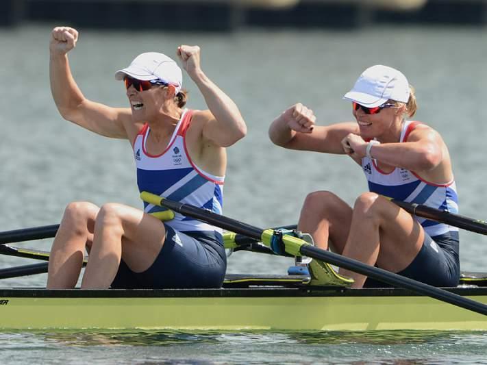 Britânicas vencem double scull