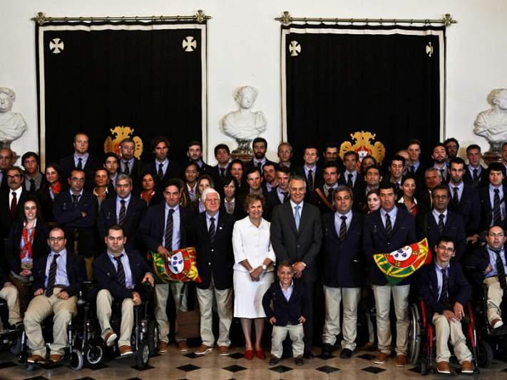 Cavaco Silva incentiva portugueses a praticar desporto