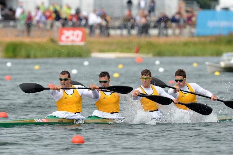 Austrália vence K4 1000 metros masculino