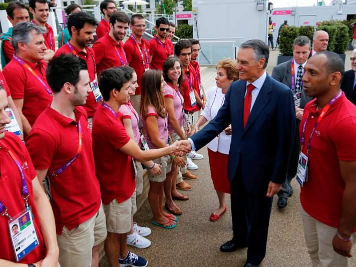Cavaco Silva apoia candidatura de Coimbra aos Jogos universitários de 2016