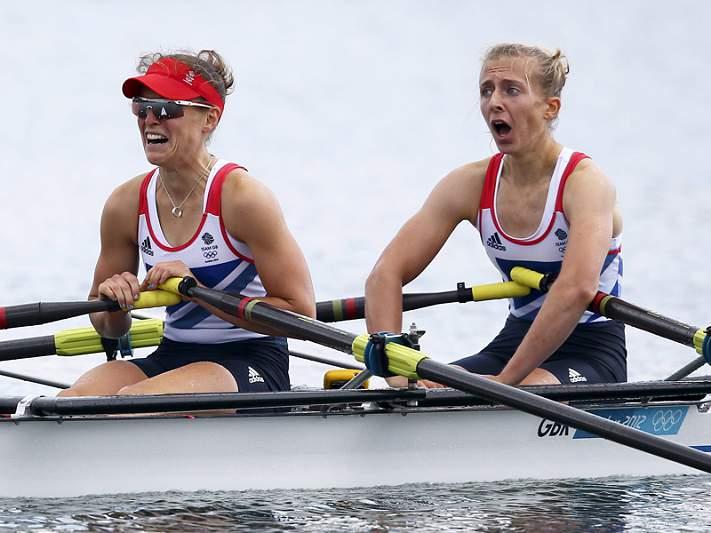Britânicas vencem prova de double scull ligeiro