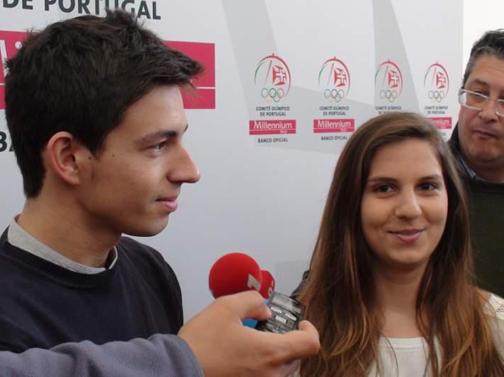 Diogo Ganchinho e Ana Rente sonham com finais