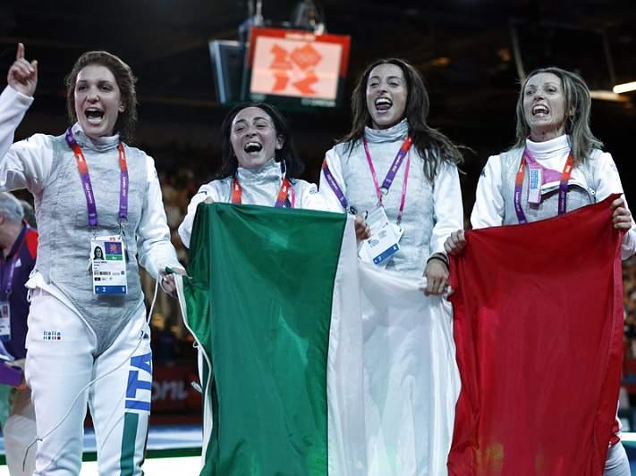 Itália campeã no florete feminino por equipas