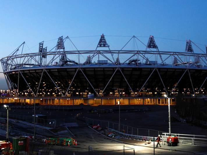 Estádio Olímpico de Londres receberá jogos em 2015