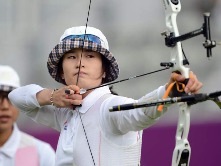 Sul-coreana Ki Bo-bae campeã individual
