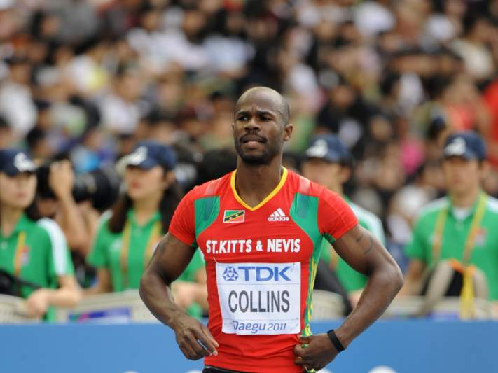 Kim Collins excluído por razões disciplinares