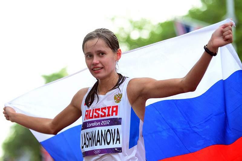 Lashmanova bate recorde mundial