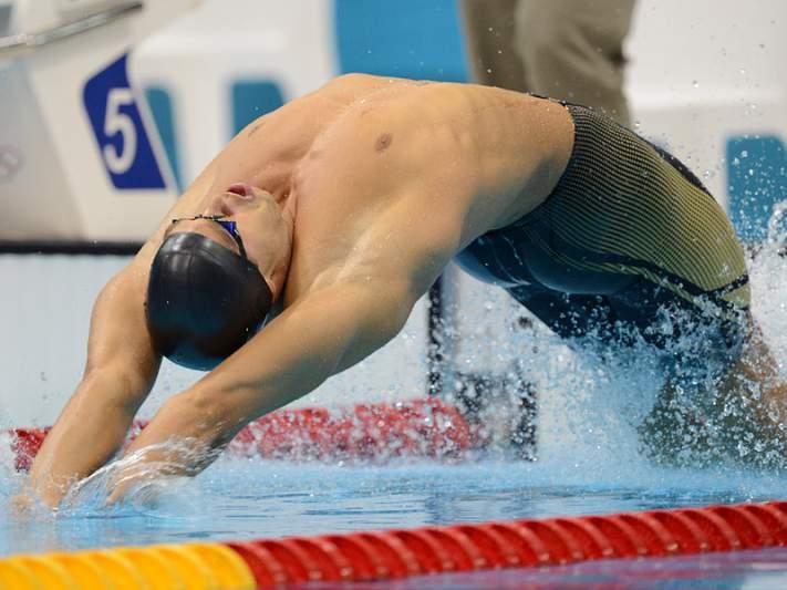 Matthew Grevers com recorde olímpico nos 100 metros costas