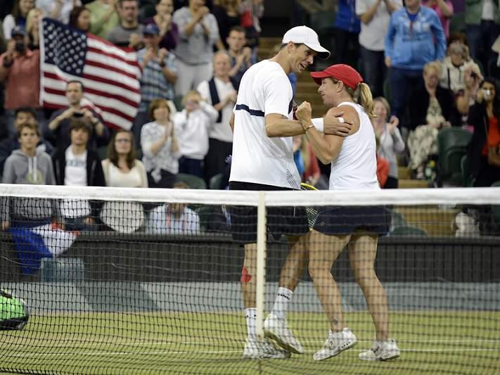 Norte-americanos Mike Bryan e Lisa Raymond conquistam bronze