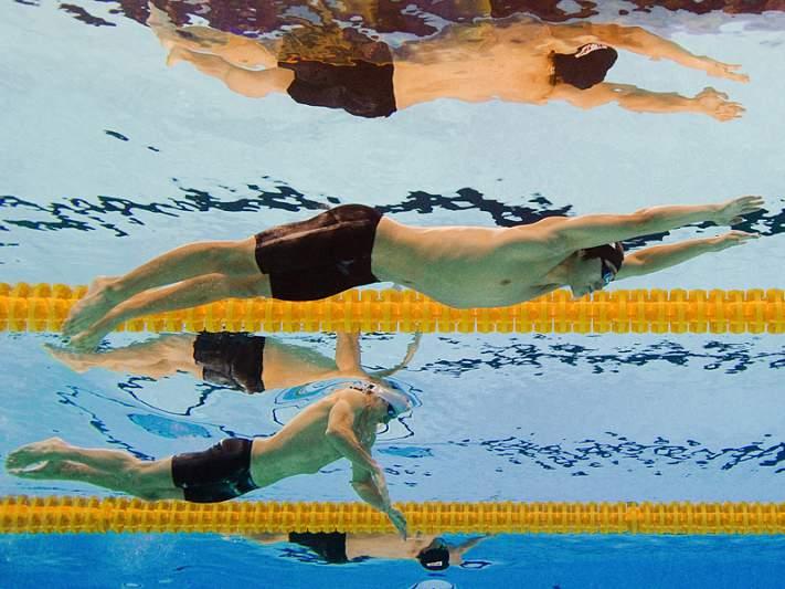 Nadador angolano frustrado com eliminação