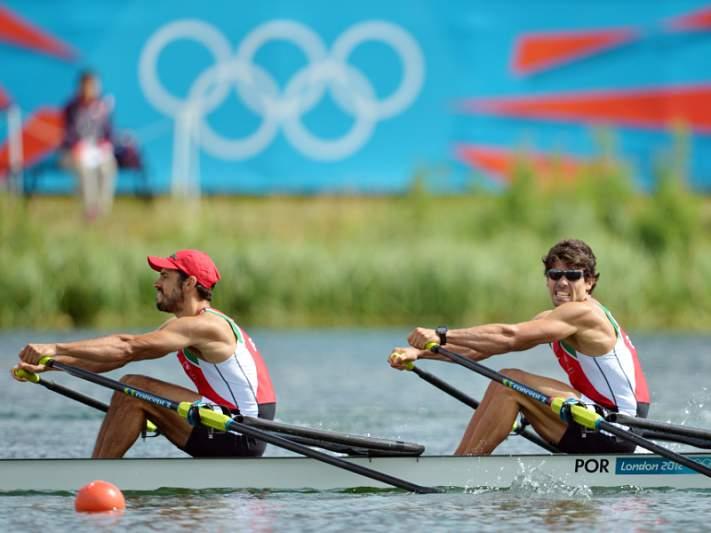 Pedro Fraga e Nuno Mendes medem forças em skiff