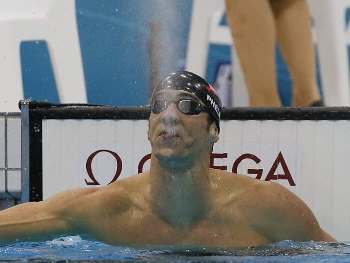 Mais uma medalha de ouro para Phelps