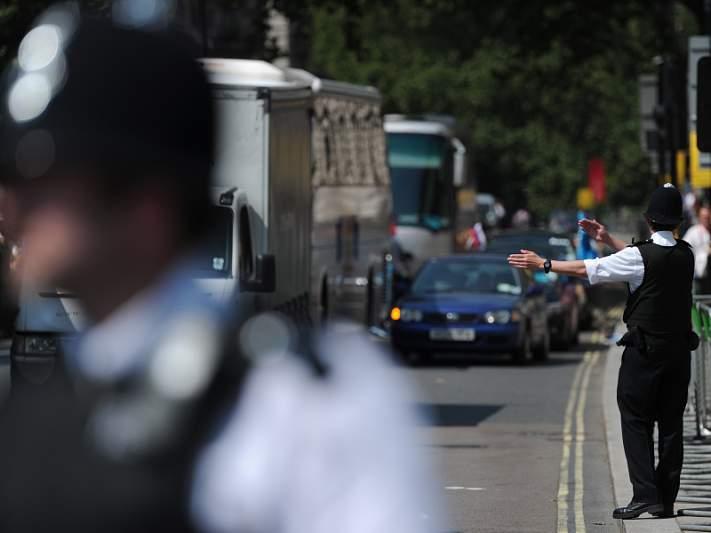 Mais 40 por cento de policiamento em relação a 2012