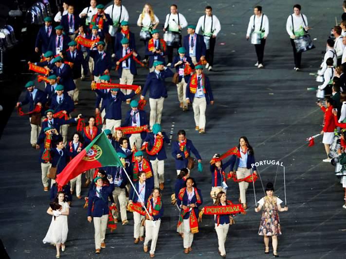 Portugal soma 23 medalhas... mais uma que Phelps