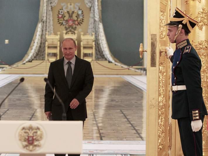 Presidente russo proíbe manifestações