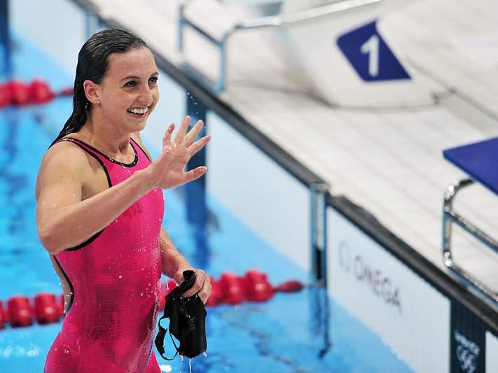 Ouro e recorde mundial para Rebecca Soni