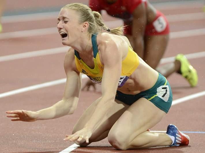 Sally Pearson de ouro nos 100m barreiras