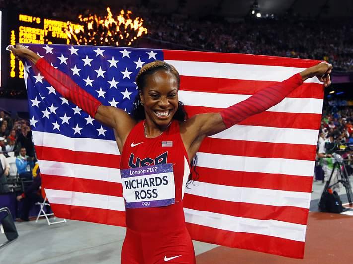 Norte-americana Sanya Richards-Ross vence 400 metros