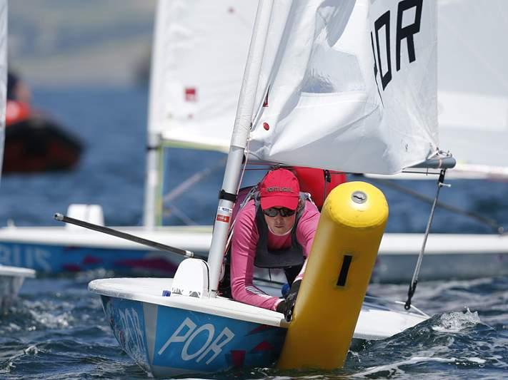 Sara Carmo 38.ª na oitava regata de laser radial