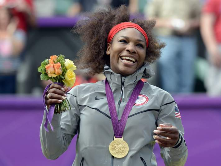 O ouro que faltava a Serena Williams