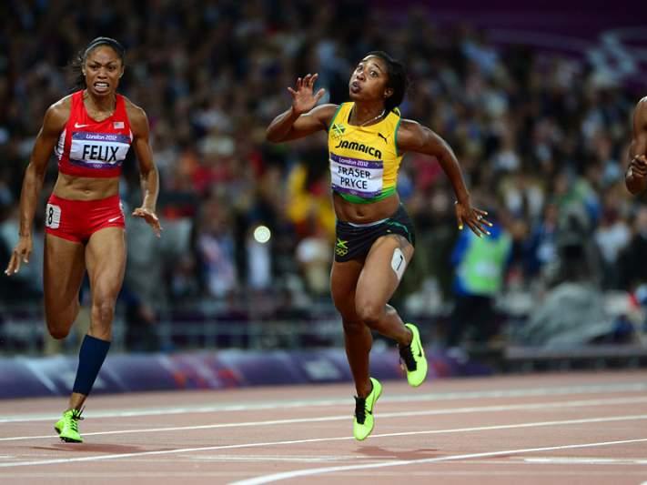 Shelly-Ann Fraser-Pryce revalída título nos 100 metros