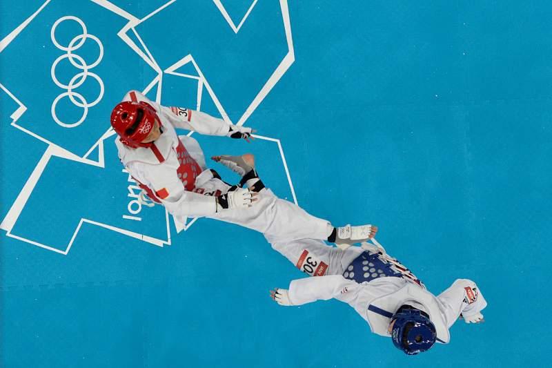 Democracia total nas medalhas do taekwondo