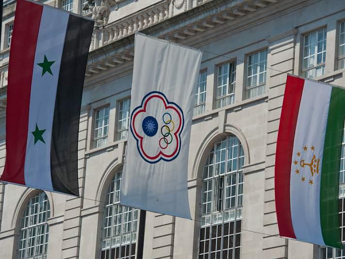 Bandeira provoca incidente diplomático