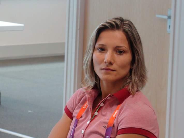 Telma Monteiro orgulhosa apesar da desilusão em Londres2012