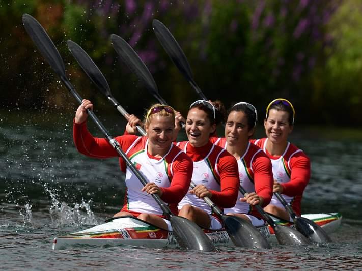 Portugal acolhe Mundiais de canoagem de pista em 2018