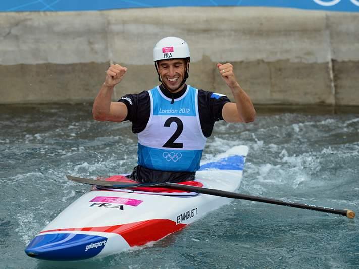 Francês sagra-se tricampeão olímpico em canoagem slalom