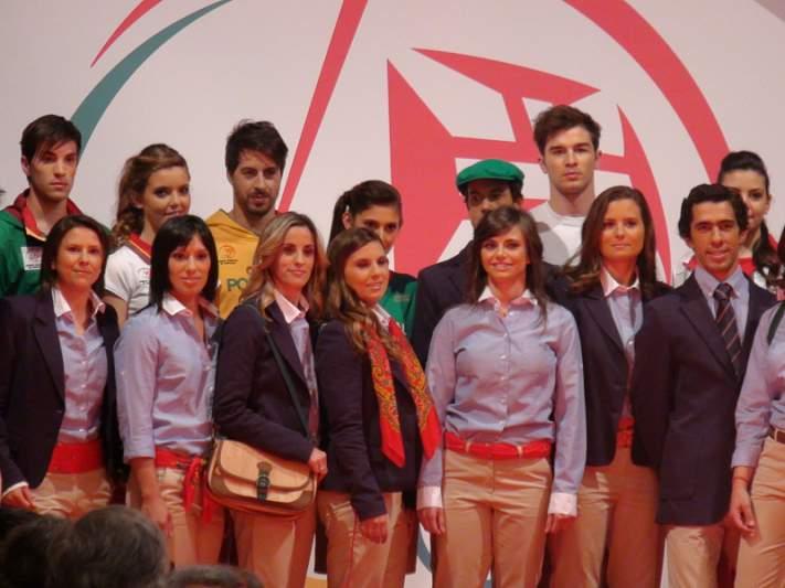 Atletas olímpicos viram modelos por um dia