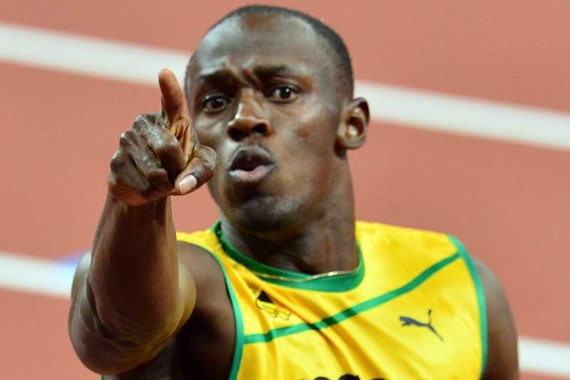 Bolt vence nos 100m e Blake os 200m