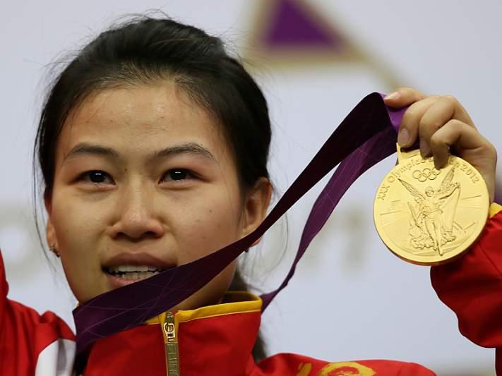 E a primeira medalha de ouro vai para... a China