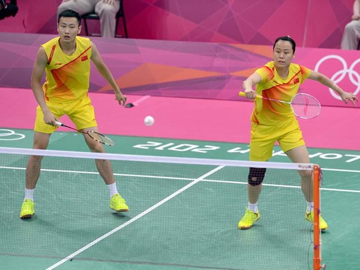 Chineses Zhang e Zhao garantem ouro nos pares mistos