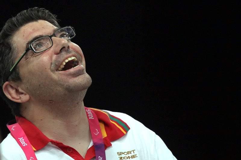 José Macedo tenta medalha de bronze em boccia BC3