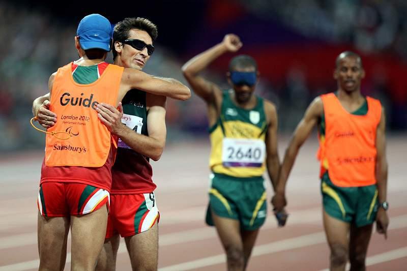Nuno Alves na final dos 1500m T11