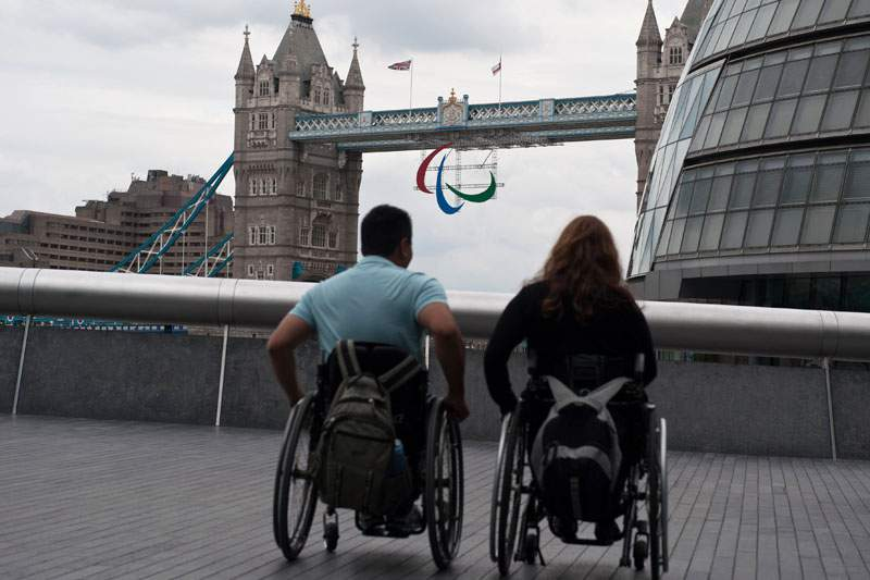 Fervor olímpico regressa a Londres em versão Paralímpica