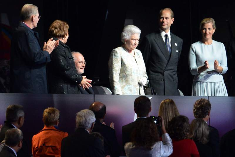Rainha Isabel II inaugurou competição