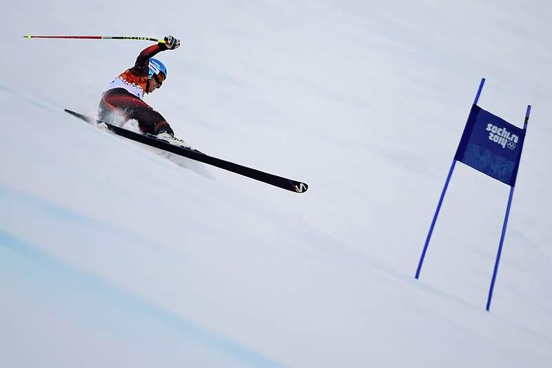 Esquiadora russa lesiona-se com gravidade na coluna